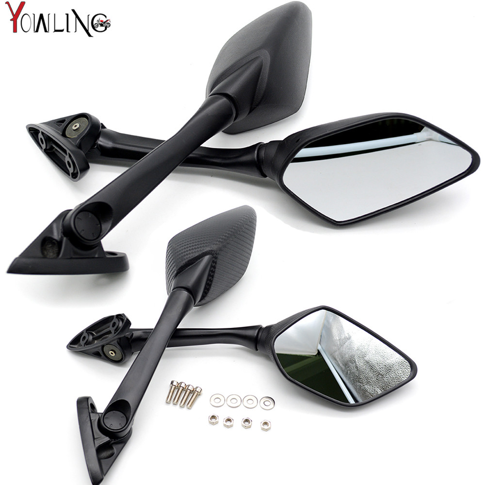 FOR YAMAHA YZF-R25 2014 2015 2016 YZF-R3 2015 2016 2017 motorcycle carbon fiber Rear View Rearview Mirrors YZF-R25 YZF-R3 R25 R3 fite for yamaha yzf r25 r3 yzf r25 yzf r3 mt 25 mt 03 2016 2015 2014 motorcycle gps navigation frame mobile phone holder