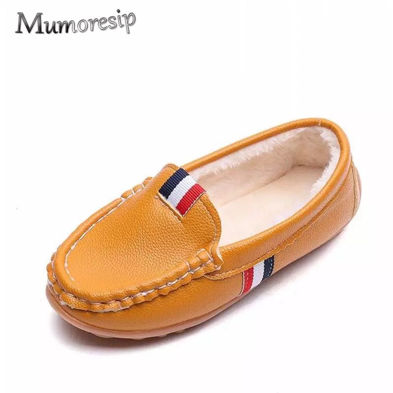 Mumoresip Baby Boy Girl Shoes Fashion Kids Loafers Candy ...