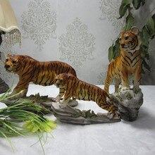 Nice Resin Big Cat Tiger Statue Figure