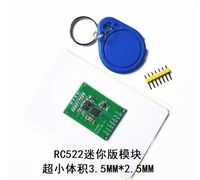 10set MFRC522 RC522 RFID radio frequency induction IC card read and write module of small size mini 13.56 MHZ