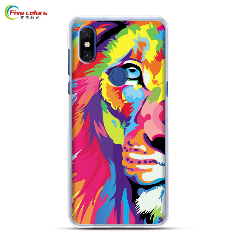 xiaomi mi mix 3 case cover luxury painted back cover silicone xiaomi mi mix3 cover coque tpu shockproof xiaomi mi mix 3 case