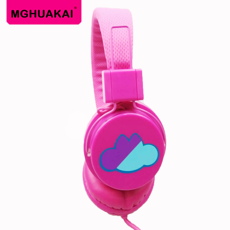 MGHUAKAI Wired Headphone Deep Bass Headphones Earphones Gaming Headsets with 3.5mm AUX Foldable Portable Adjustable for PC phone