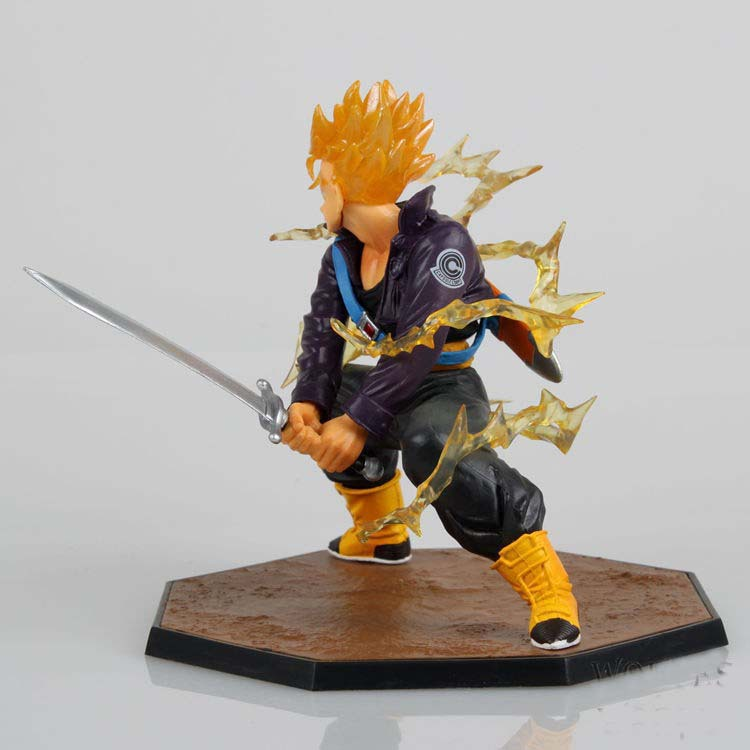 Action Figure Trunks Dragon Ball Z 3
