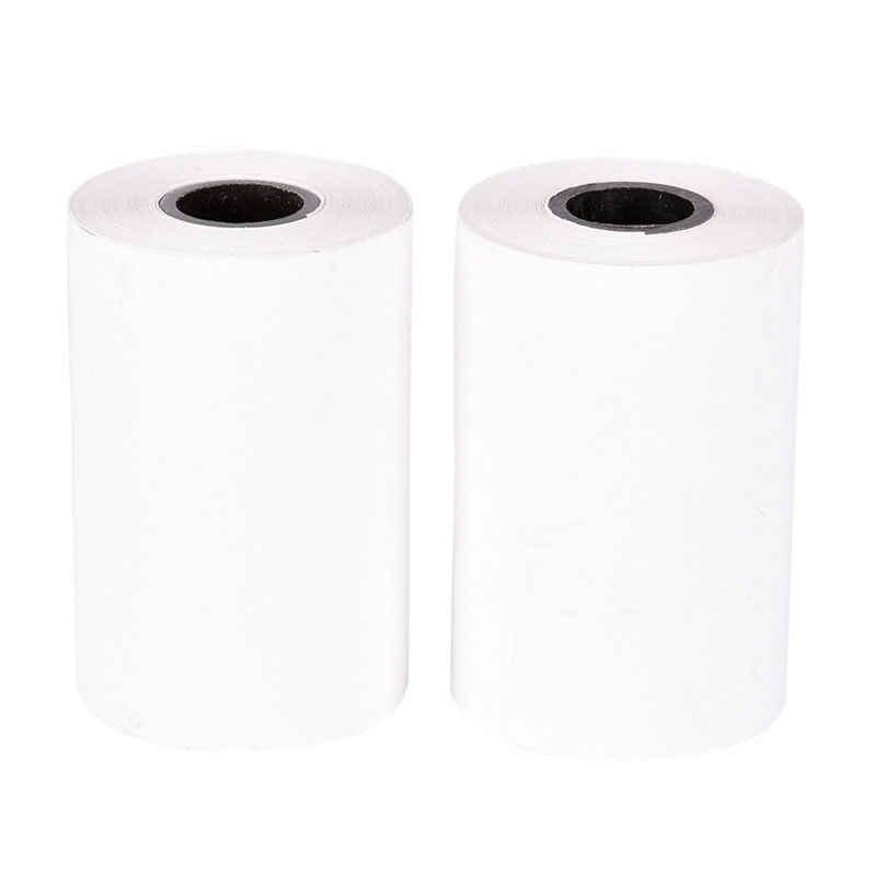 1 rollo de Papel de recibo térmico 57*40 para móvil POS 58mm impresora térmica lote Etiqueta de papel de impresión papel de impresión