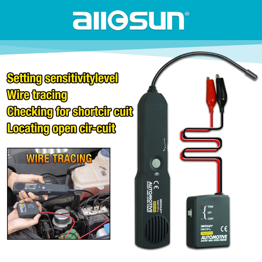 Automotive Cable Wire Short Open Digital Finder Car Repair Tool ...