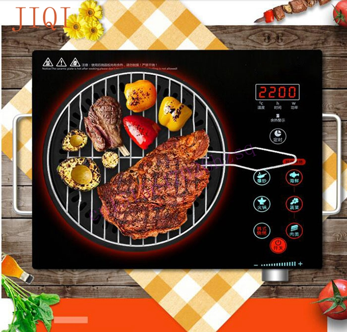Induction Cooker household oven Desktop Hot pot genuine electric ceramic stove stove cooker   special offer electrical magnetic waterproof induction cooker intelligent hot pot stove with timer ceramic induction household cooktop eu plug