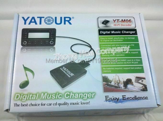 Yatour ytm 06 for Ford Focus Mondeo Europe Digital Music Car audio ...