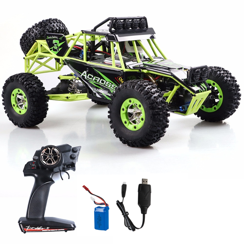 WLtoys Remote Control Car 1:12 RC truck 4wd Racing Car Electric Off-road RC Monster Vehicle Truck Climber with 50KMh high speed