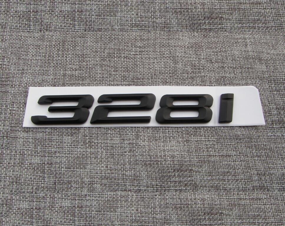"""Matte Black /"""" X 4 /"""" Number Trunk Letters Badge Emblem Letter Sticker for BMW X4"""
