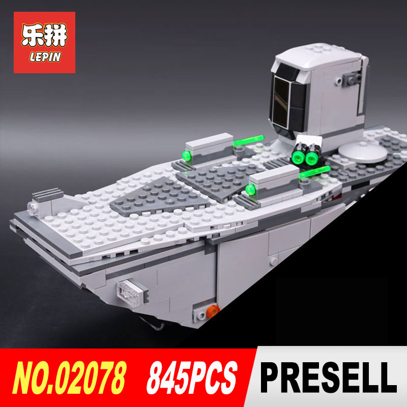 lepin 05003 star wars the force awakens first order transporter model Building kits Blocks Bricks toys for boys LegoINGlys 75103 star wars boys black