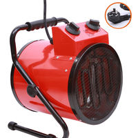 220V 3KW Warm Air Blower High Power Household Thermostat Industrial Room The Bathroom Dryer Heater BJAS 032