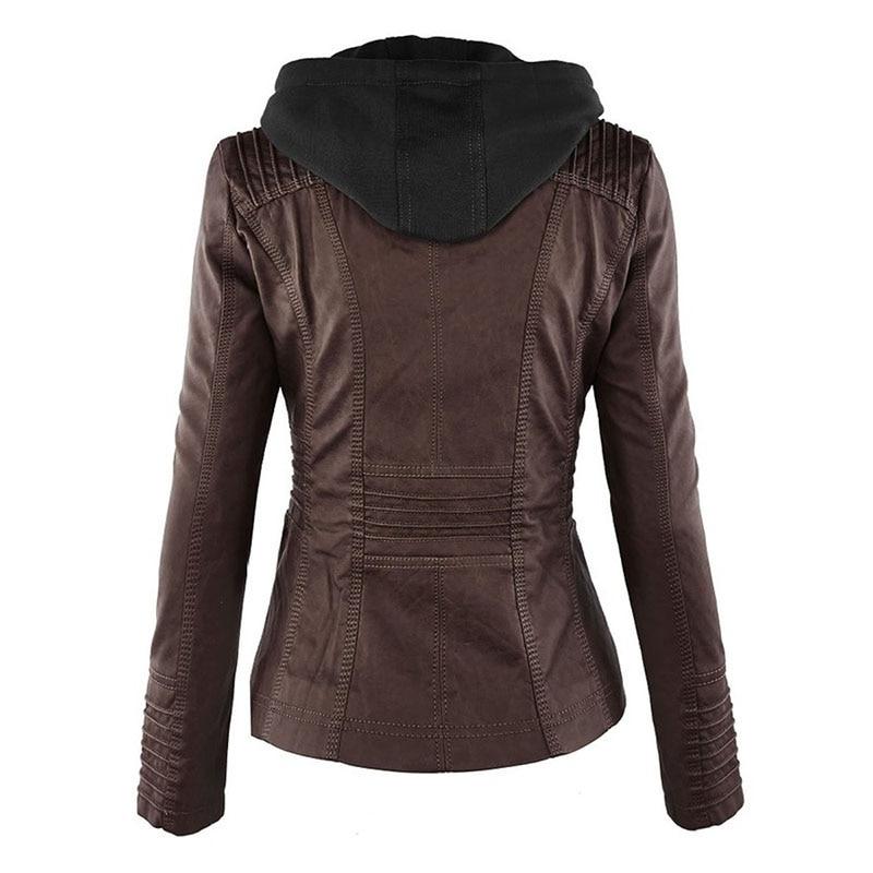 HTB1kTdOaV67gK0jSZPfq6yhhFXaF Faux Leather Jacket Women 2021 Basic Jacket Coat Female Winter Motorcycle Jacket Faux Leather Suede PU Zipper Hoodies Outerwear