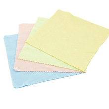 Free shipping 10pcs/pack New Glasses Cloth Fabric Mobile Phone Camera Wipes Computer Lcd Monitor