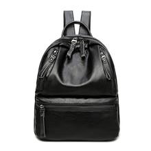Для женщин рюкзак Высокие ботинки из PU-кожи качество Рюкзаки подросток Обувь для девочек школьная сумка большая Ёмкость Сумки