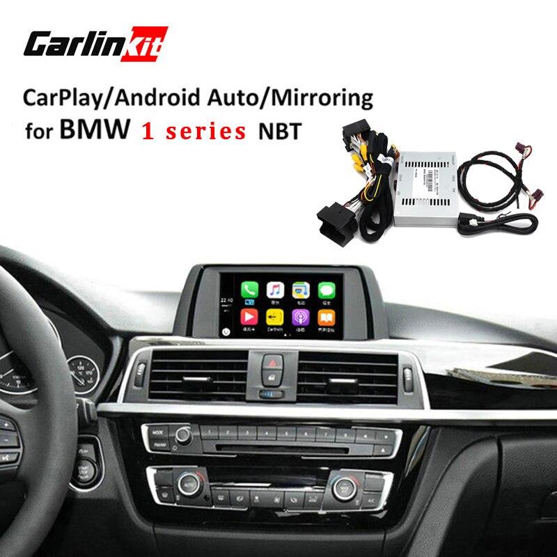 Carlinkt Telecamera di retromarcia Sistema di Modulo di Interfaccia per BMW 1 Serie Con NBT 6.5 ''Schermo Con Carplay Mirroring