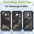 3 em 1 Padrão de Camuflagem Do Exército Do Camo Armadura Anti-knock back cover telefone case para samsung galaxy j1 mini j105 j105f conque funda