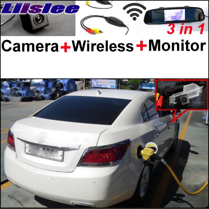 Otomobiller ve Motosikletler'ten Araç Kamerası'de Liislee 3in1 Özel WiFi Kamera + Kablosuz Alıcı + Ayna Park Sistemi Daewoo Için Alpheon 2010 ~ 2015 title=