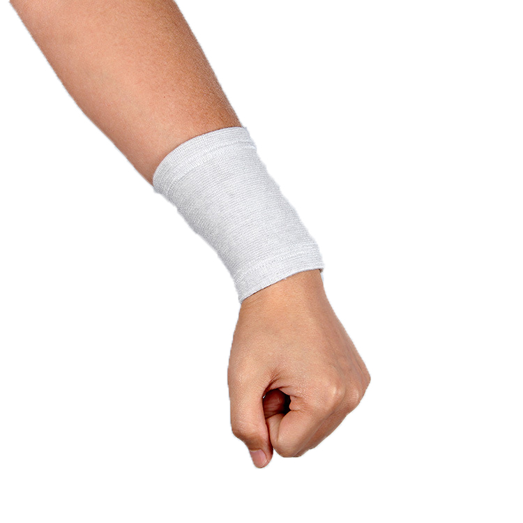 Cotton Breathable Wrist Sweatband Athletic Cotton Terry Cloth Wristband for Tennis, Basketball, Running, Gym, Working Out Sports
