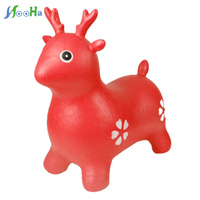Jumping Deer Ride On Bouncy Inflatable Animal Kids Toys Baby Children For Gift Sport Fitness Game Jumping Toy For Children Gift