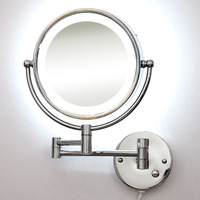 Spiegel frontleuchte wandleuchten doppelseitig silber spiegel zusammensetzung schlafzimmer hotel bad LED wandleuchten ZA FG471