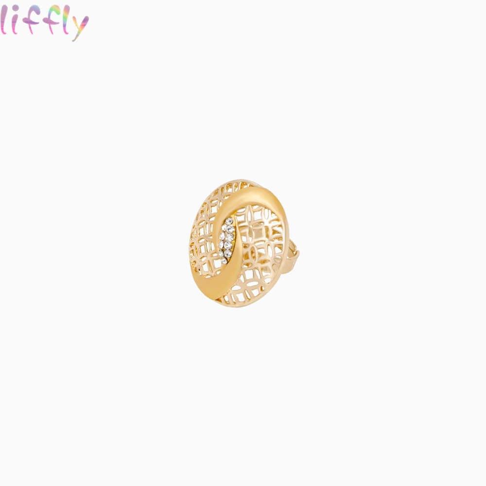 ゴールドジュエリーセットファッション、ホット販売ペンダントネックレスイヤリングリングドバイジュエリーセット女性のための花嫁の結婚式のアクセサリー