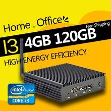 Ргнс htpc f1 цпу intel core i3 2.0 ГГц 4 ГБ 120 ГБ ssd hd graphics 300 м wifi mini pc компьютер windows