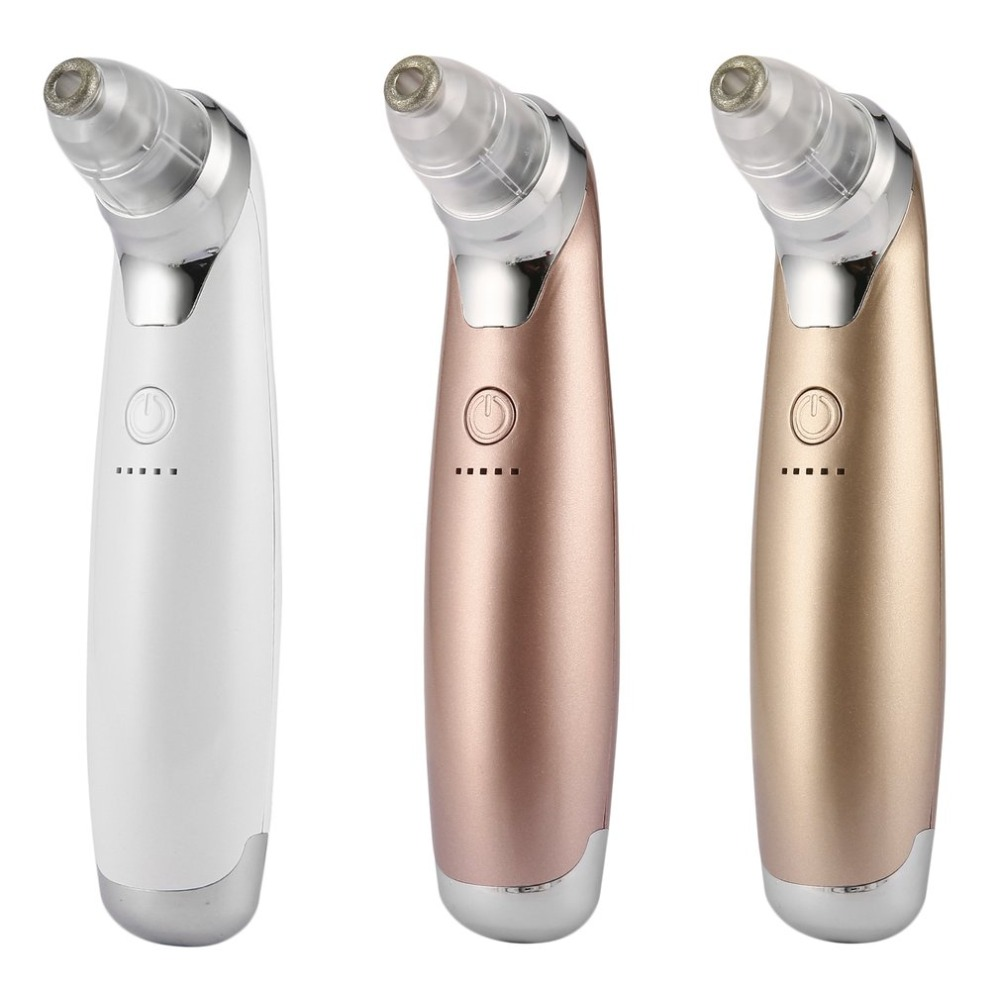 Portable Size USB Electric Facial Face Pore Cleanser Blackhead Vacuum Sucker Acne Remover Skin Care Beauty Tool original package electric facial pore cleanser blackhead suction acne remover removal 2 in 1 facial steamer spray moisturizer