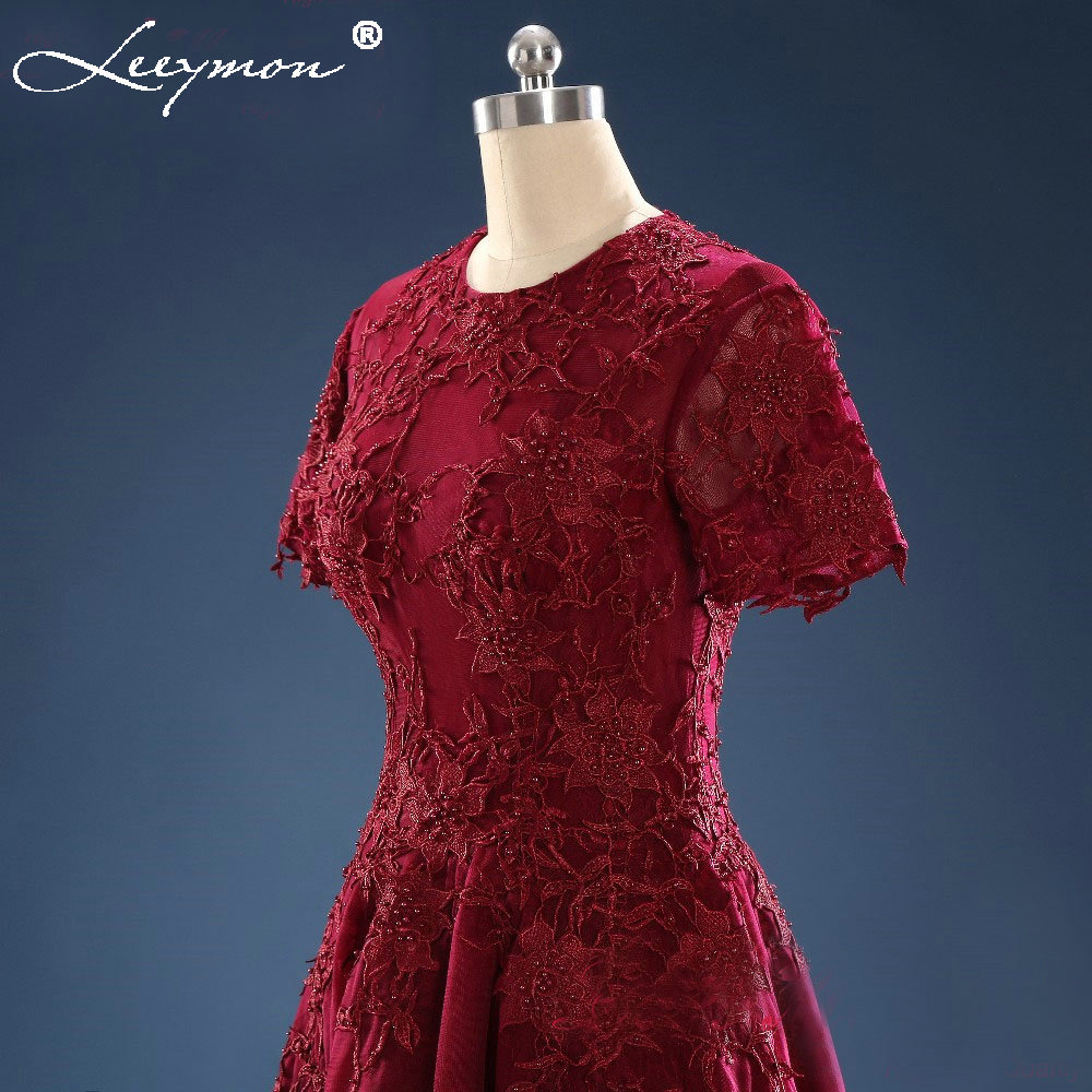 Elegantne stvarne fotografije Haljina De Cocktail Kratka prednja duga - Haljina za posebne prigode - Foto 5