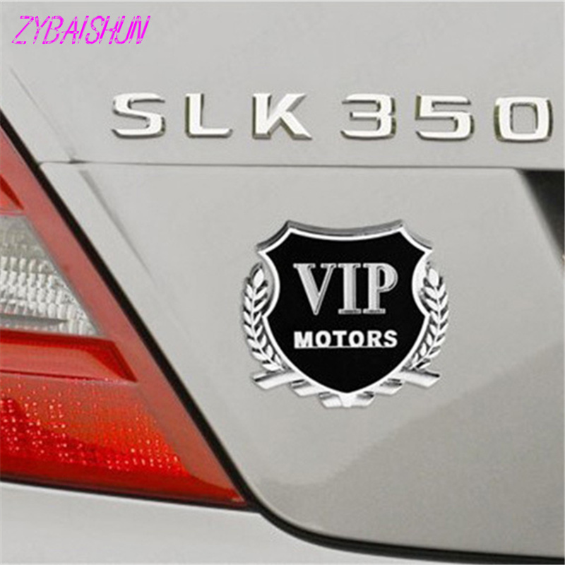 3D металла vip Motors наклейки с эмблемами Авто 2 шт для Ford Focus Fusion эскорт Kuga Ecosport Fiesta Сокол EDGE/Explorer/экспедиции