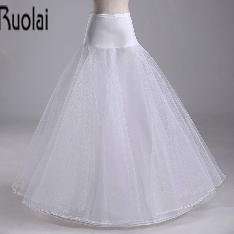 Buy crinoline petticoat slip white for Plus size wedding dress petticoat