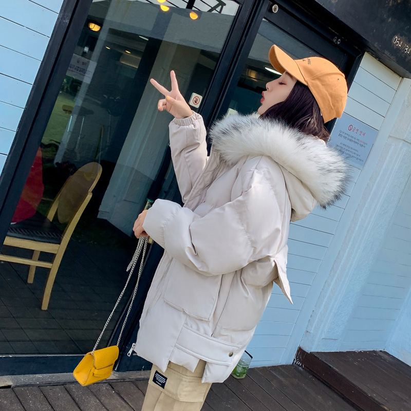 Winter Fashion Short Warm Women Coat Jackets Thick down cotton jacket Ladies   Parka   ladies Coat Female Padded overcoat