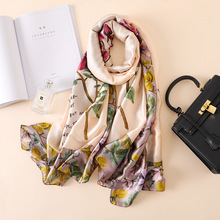 REALSISHOW 2019 New Autumn Winter Fashion Womens Scarf Hot Silk Scarves Shawl Female Long Bandana Hijab 180*90cm