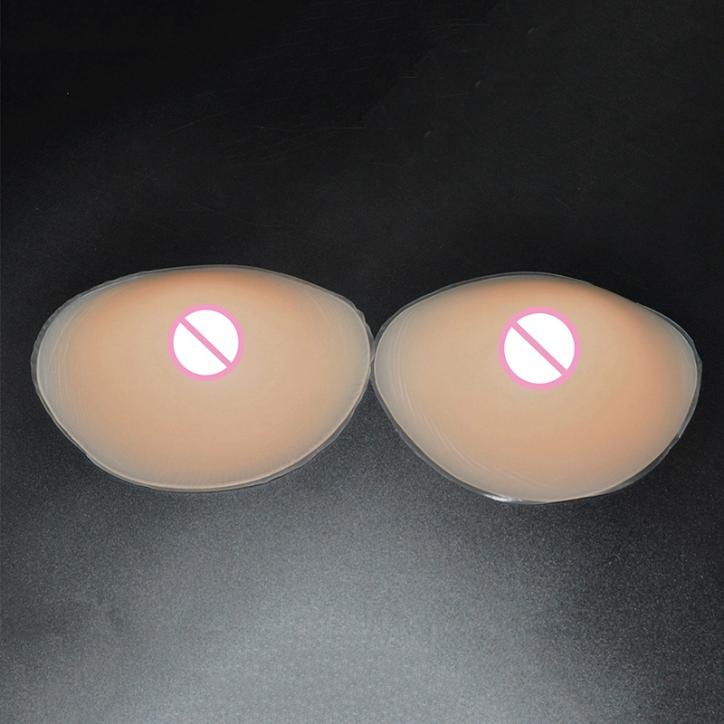 Sexy Women Silicone Bra Inserts Mastectomy Breast Pads Transsexual Push Up Bra Insert Breast Enhancer Inserts for Dress Swimsuit