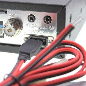 Image 3 - CB راديو ANYTONE AT 5555N 25.615   30.105 Mhz 40 قناة جهاز إرسال واستقبال محمول AT555N AM/FM/SSB 11 متر راديو