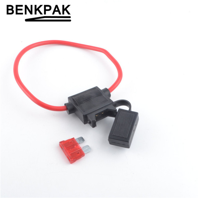 BENKPAK medium blade Auto fuse + waterproof auto Fuse Holder