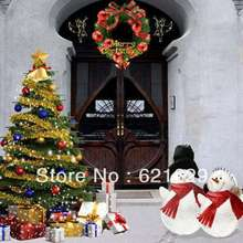 Beautiful Christmas tree 8'x8′ CP Computer-painted Scenic Photography Background Photo Studio Backdrop ZJZ-074