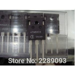 Free Shipping! SPW47N60C3 TO-3P 47N60C3 SPW47N60 47N60 Cool MOS Power Transistor TO-247 irfp4232 to 247