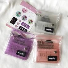 2019 New Summer Fashion Transparent PVC Beach Bags Handbags Female bentoy Novelty Jelly Shoulder Messenger wallet