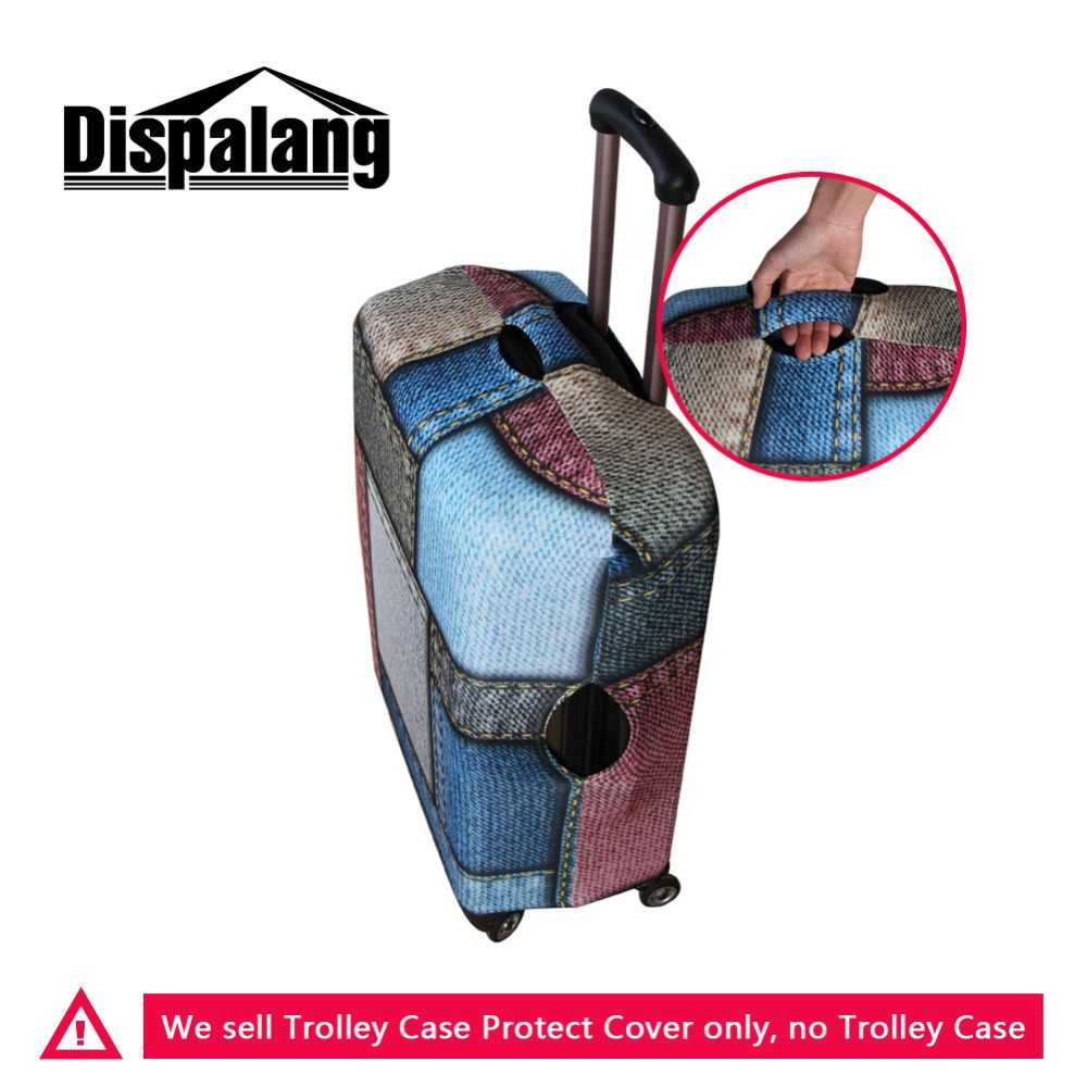 Dispalang 3D Print Geometrische Logo Muster auf Koffer Abdeckung für Frauen Mode Gepäck Schutz Abdeckungen Beste Reise Zubehör