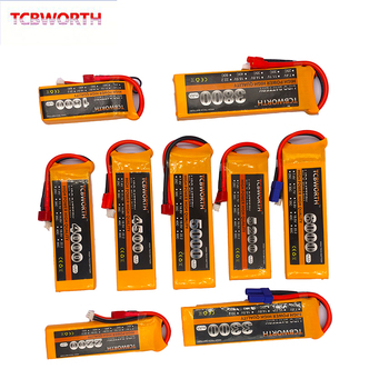 2S 7.4V 1100 1500 1800 2200 2800 3300 4000mAh 25C 35C 60C RC LiPo Battery 2S For RC Airplane Quadrotor Boat Drone 2S Batteries 3