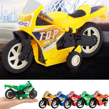 Kids Toy Baby Funny Toys For Boy Girl Pull Back Car Beach Four-wheel Motorcycle Model Baby Kids Children Toys(China)