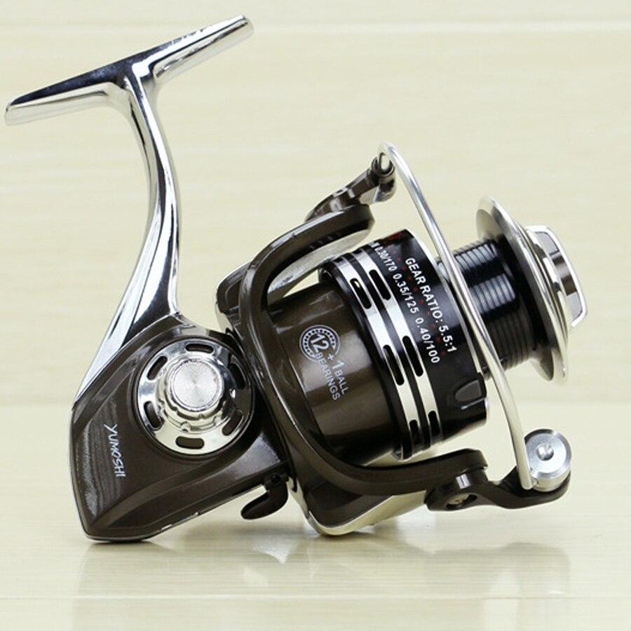 Új BY 3000 - 7000 Spinning orsó 5.5: 1 Zökkenőmentes 13BB teljes - Halászat - Fénykép 6