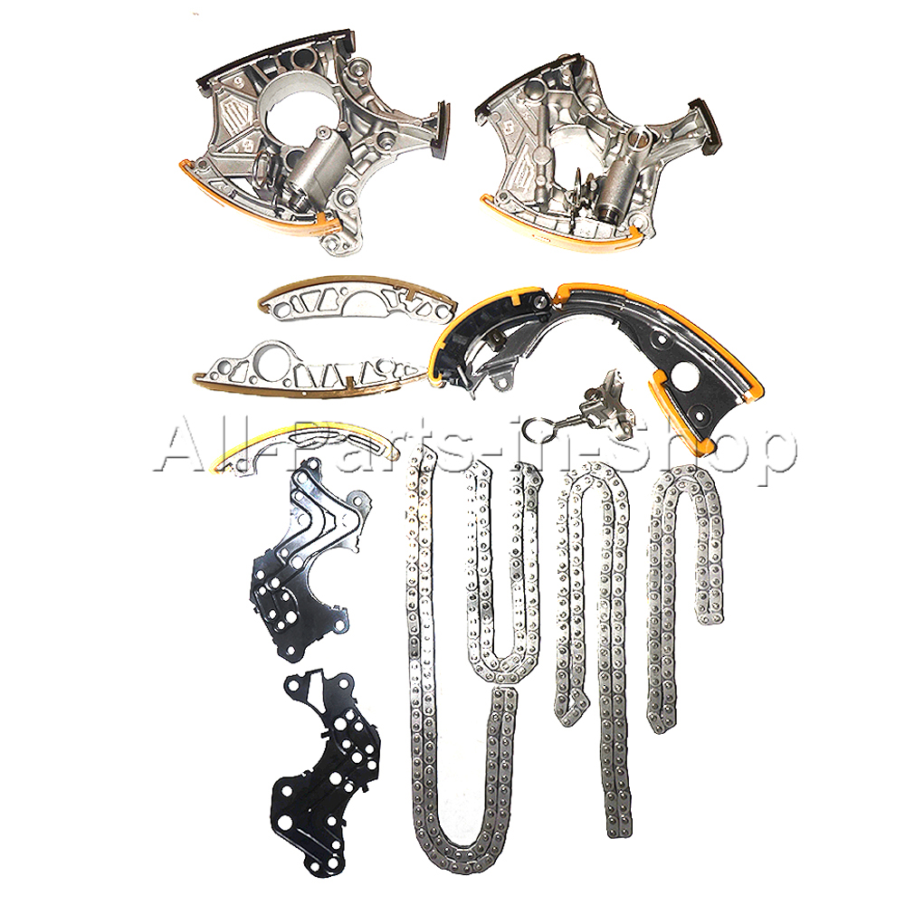 For Audi 24 32 V6 Bdw Auk Bkh Bpk Steering Chain Set And 2005 A6 3 2 Belt Tensioner 06e109217h 06e103483g 06e103484g 079109510m On Alibaba Group