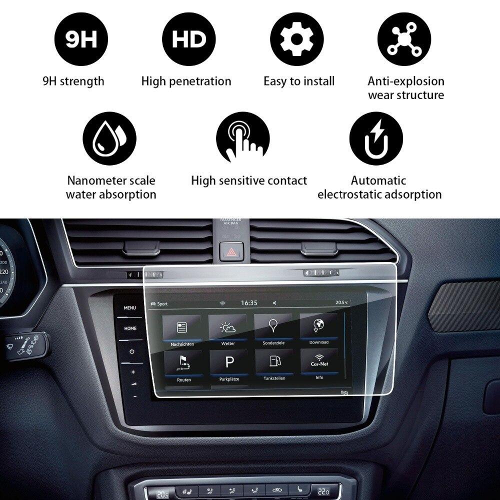 RUIYA 2018 Volkswagen Tiguan/Tiguan VW II GTE Allspace Descobrir Pro 9.2-Polegada 9 H Vidro Temperado E Endurecido protetor
