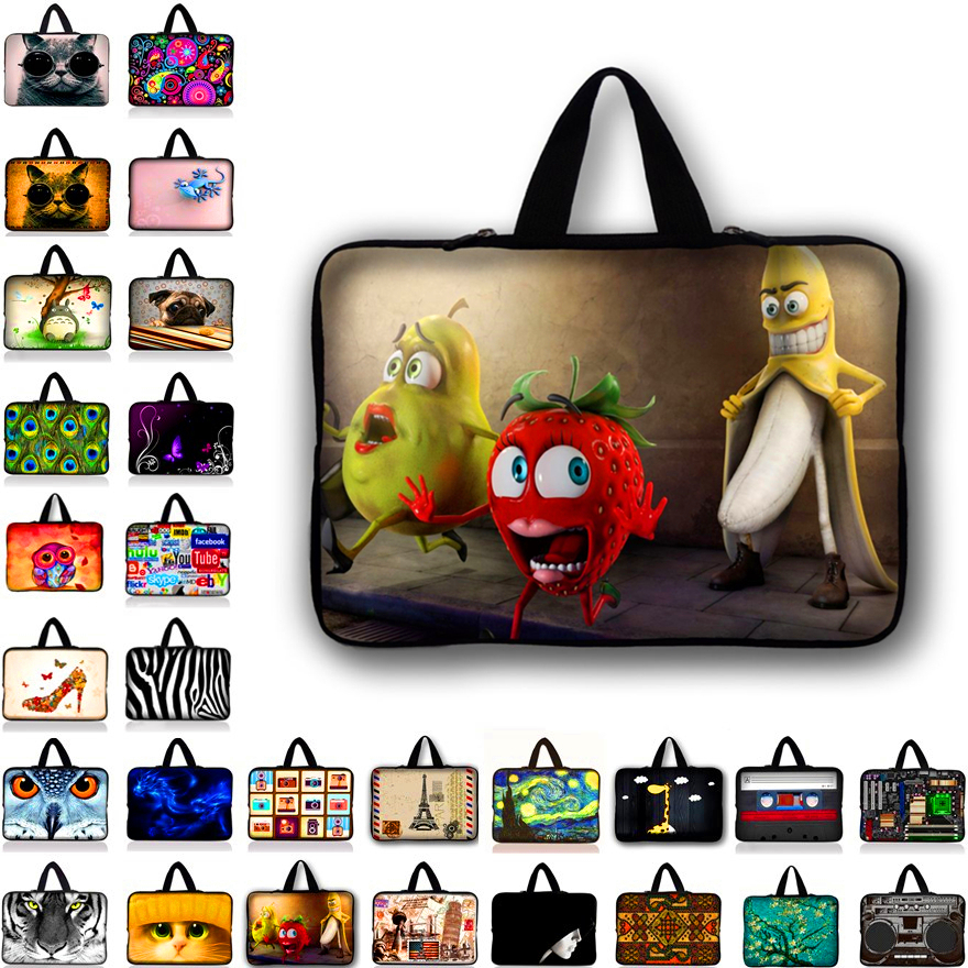 7 10.1 11.6 12 13.3 14 15.6 17.3 inch Laptop Bag Notebook Pouch Cover Bags For Tablet Mini PC Fashion Case For Lenovo HP Asus