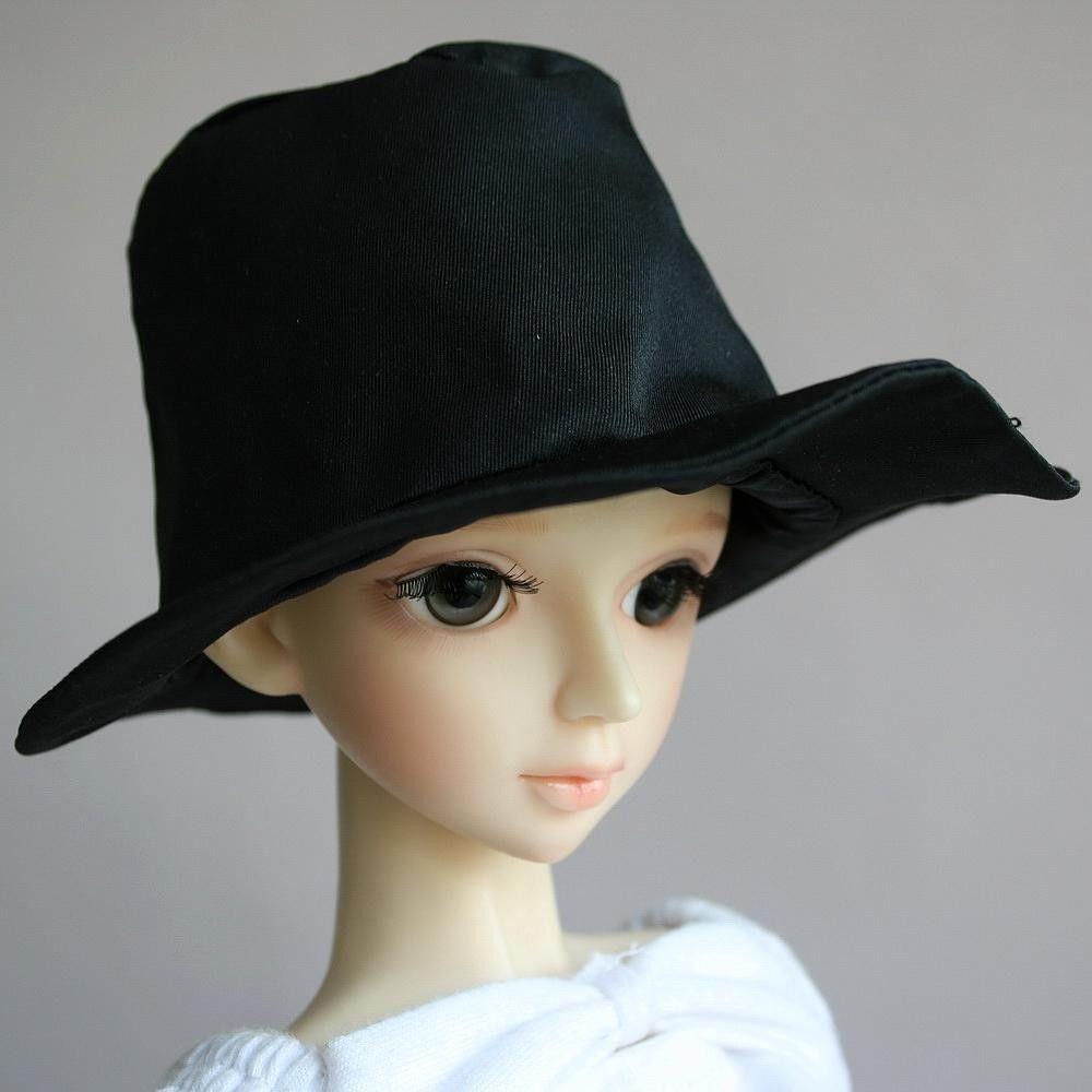 [wamami] 22# Black Cap/Hat 1/3 SD DOD DZ LUTS BJD Dollfie