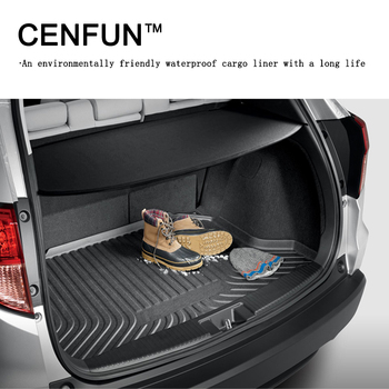 All Weather Cargo Liner Trunk Mat Trunk tray For PEUGEOT 408 2008 308 3008 508 2017 2018 protection