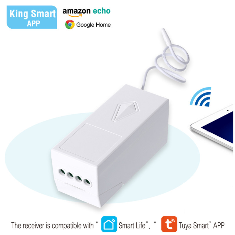 Wall Switch Light Remote and Receiver Control Kit - No Wiring Waterproof Wireless Switch  Switches Ceiling Lamps LED BulbsWall Switch Light Remote and Receiver Control Kit - No Wiring Waterproof Wireless Switch  Switches Ceiling Lamps LED Bulbs