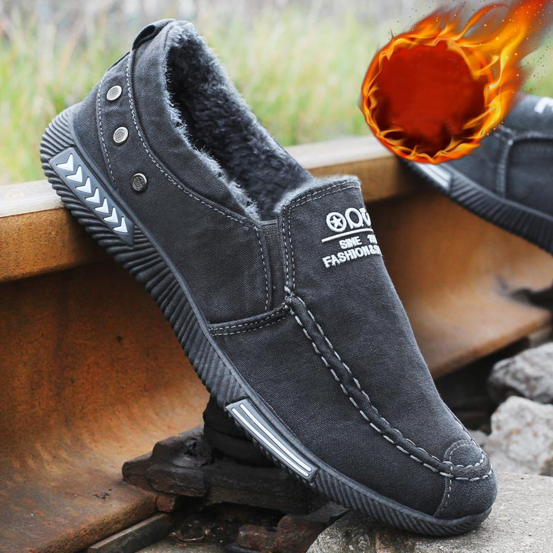 HTB1kTjzXfvsK1Rjy0Fiq6zwtXXaH Men Casual Shoes Canvas Shoes For Men Chaussure Homme Autumn Winter Warm Breathable Shoes Men Fashion Sneakers Man Walking Shoe