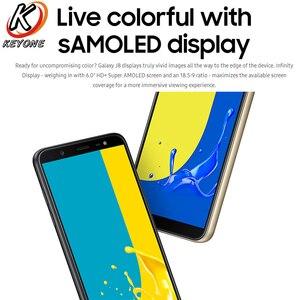 Image 3 - 100% חדש Samsung Galaxy J8 J810F DS נייד טלפון 6.0 אינץ 4GB RAM 64GB ROM אוקטה Core כפול אחורי מצלמה אנדרואיד טביעת אצבע טלפון